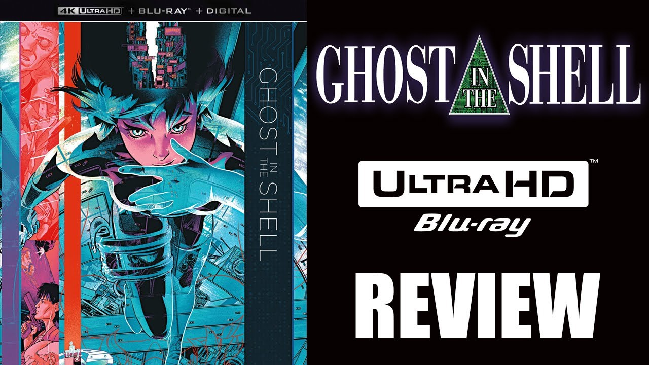 An Animated Classic Ghost In The Shell 4k Blu Ray Review 1995 Youtube