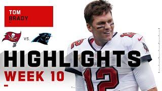 Tom Brady Bounces Back w/ 341 Passing Yds & 3 TDs   NFL 2020 Highlights