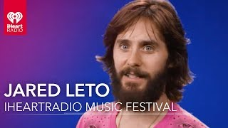Jared Leto on Thirty Seconds to Mars at iHeartRadio Music Festival