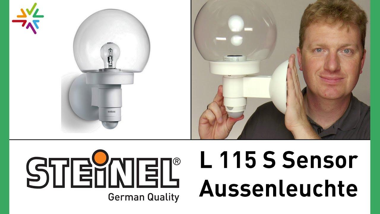 maxresdefault Spannende Steinel Lampe Mit Bewegungsmelder Dekorationen
