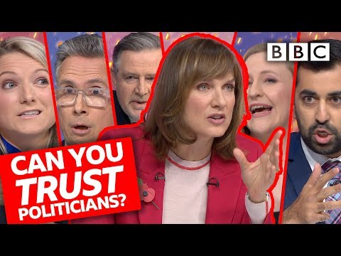 Can we still trust our politicians? | Question Time - BBC