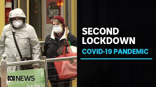 Melbourne's second COVID-19 lockdown harder than the first, data shows | ABC News