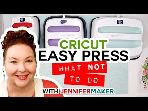 Cricut EasyPress Tips, Tricks, & What NOT to Do