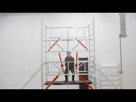 How to: RS TOWER 5 rolsteiger met Safe-Quick® opbouwen   Altrex