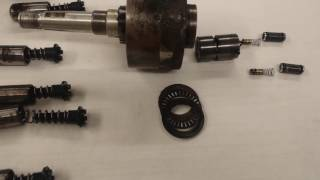 seastar hydraulic helm rebuild part 2