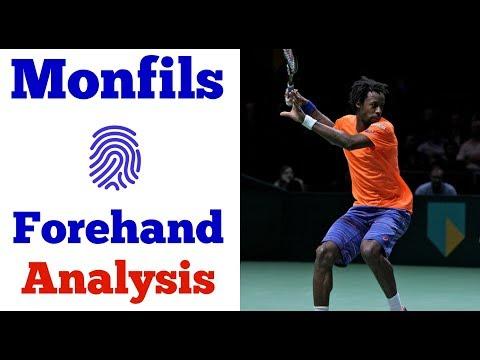 Gael Monfils Forehand Analysis | Unique In His Technique