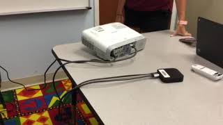Connecting Epson projector to Apple TV