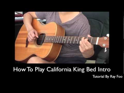 California King Bed Tutorial - YouTube