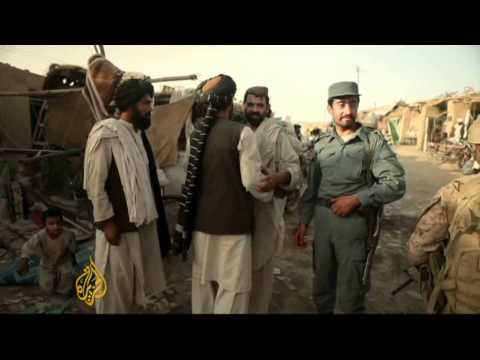 Afghan forces prepare for NATO withdrawal
