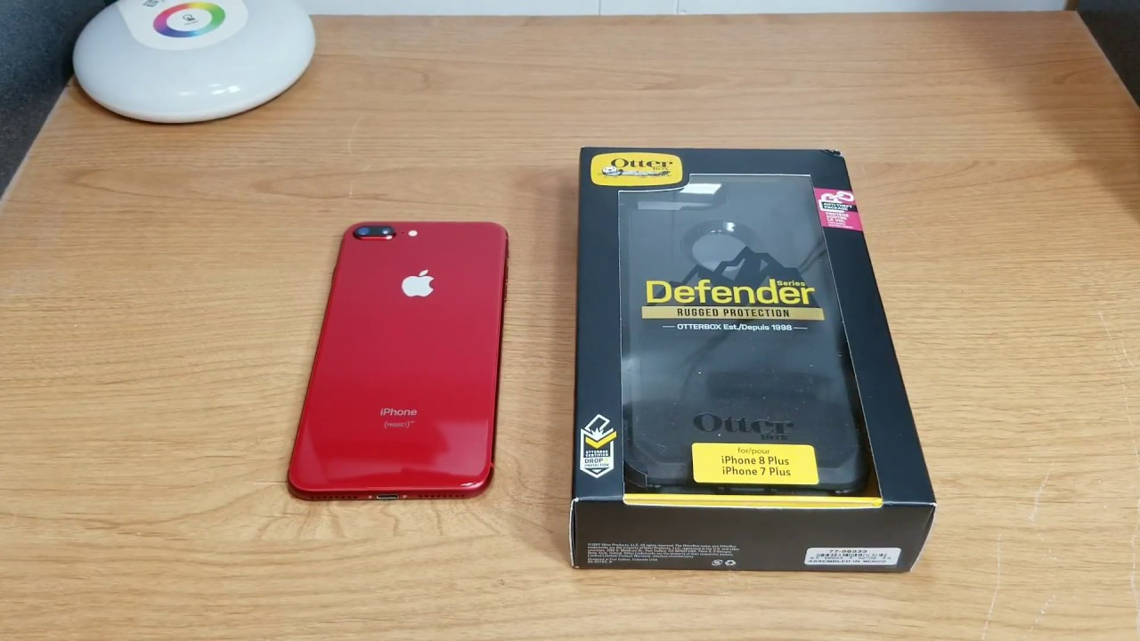huge discount 8b7c0 c9751 Otterbox Defender For iPhone 8 Plus (I'm Using With Product Red)