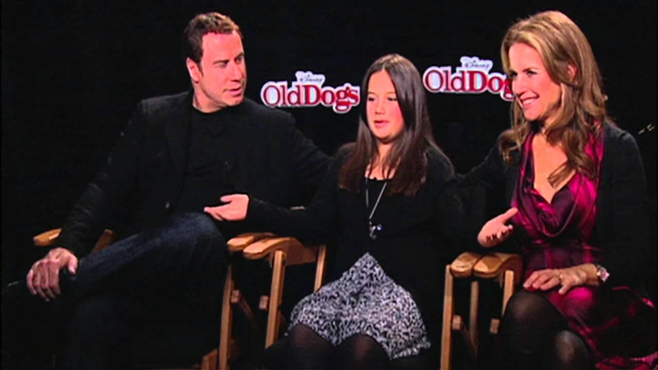 Old Dogs John Travolta Kelly Preston Ella Bleu Travolta Exclusive Interview Youtube