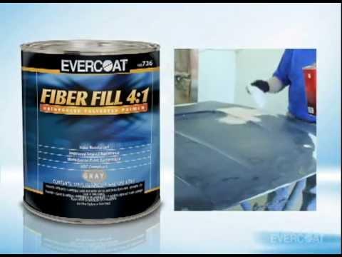 Imprimador de Poliéster Reforzado Fiber Fill 4 a 1 de Evercoat - spanish