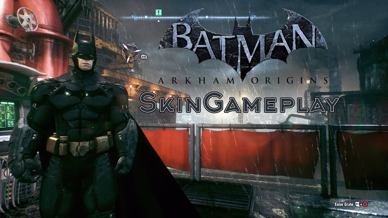Batman Arkham Knight - Arkham Origins Skin Gameplay - YouTube