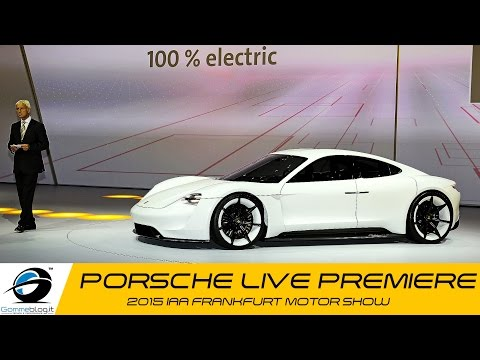 Porsche LIVE PREMIERE @ 2015 IAA Frankfurt Motor Show