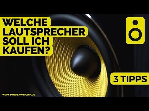 Welche Lautsprecher soll ich kaufen? | 3 Tipps zum Thema Musik Anlage kaufen | DJ Tipps