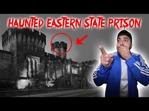 THE HAUNTED EASTERN STATE PRISON ft OMARGOSHTV! GHOSTS LIVE INSIDE THESE WALLS!!