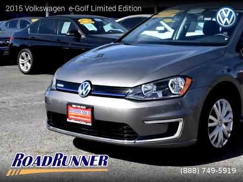 2015 Volkswagen e-Golf - Roadrunner Auto Group - Canoga Park