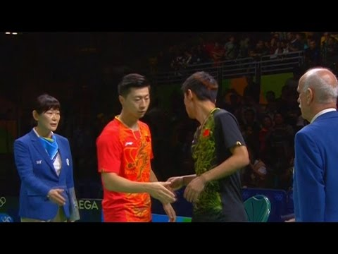 Ma Long vs Zhang Jike (Men's Singles Final) Olympic Rio 2016 Highlights
