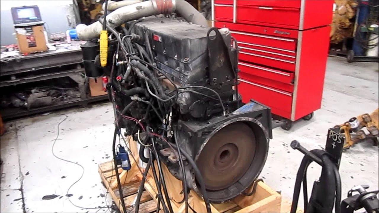 Cummins Diesel Engines >> 1999 Cummins ISM Diesel Engine Running - YouTube