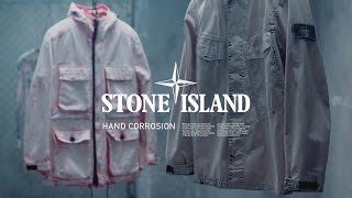 6615 Stone Island _ Spring Summer '017 HAND CORROSION