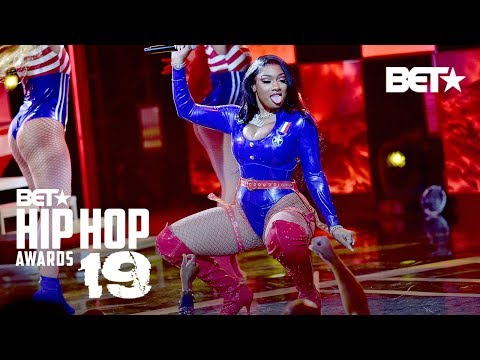 Megan Thee Stallion & DaBaby In Fire Hot Girl Summer & Cash Shit Performance!   Hip Hop Awards '19