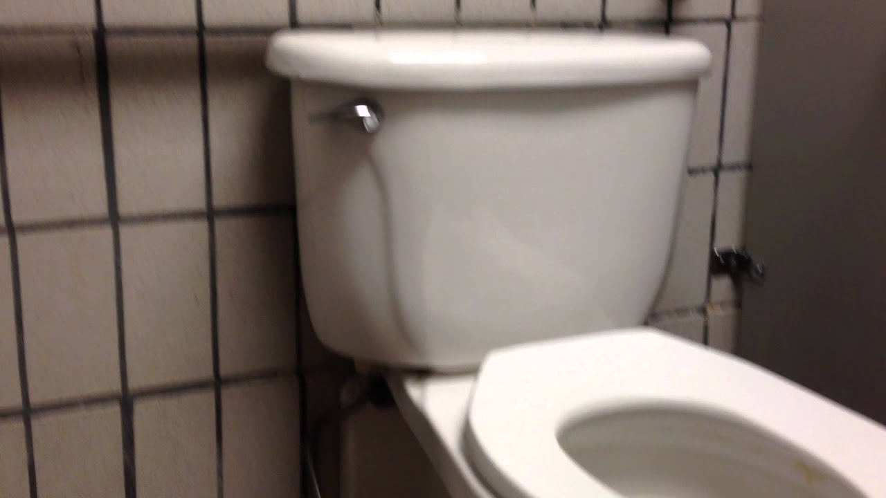 053 a wall mounted american standard toilet with a tank in a local store youtube - Wall Mount Toilet