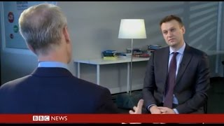 Alexey Navalny's interview for HARDtalk, BBC