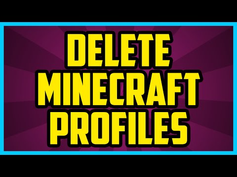 How To Delete Profiles On Minecraft Launcher 1.10 2017 PC (EASY) - How To Remove Minecraft Profiles