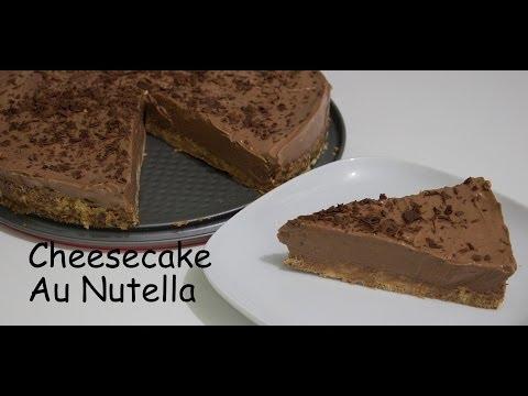 recette-:-cheesecake-sans-cuisson-au-nutella-**-تشيزكيك-سهل-بدون-طهي