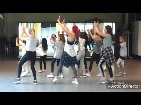 Madcon Keep my cool Flashmob ( Tuto + Choreo )