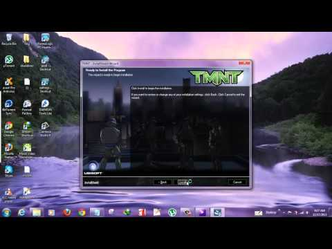 How to download TMNT Teenage Mutant Ninja PC Game