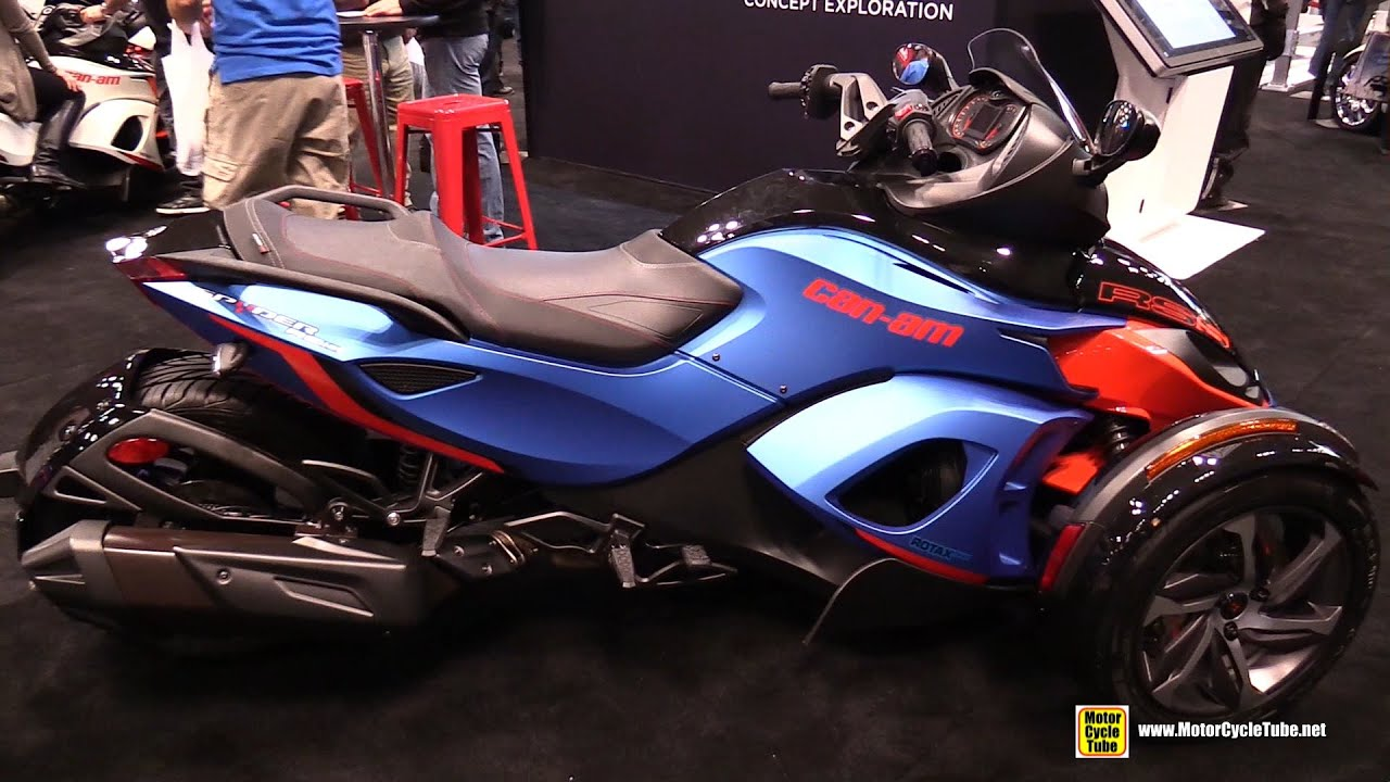 2015 Can-am Spyder RS S - Walkaround - 2014 New York Motorcycle Show ...