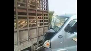 حادث مرور ..الطريق الوطني رقم 1 ن .ك 800+248