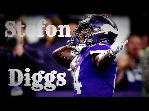 Minnesota Vikings Stefon Diggs 2018 Highlights