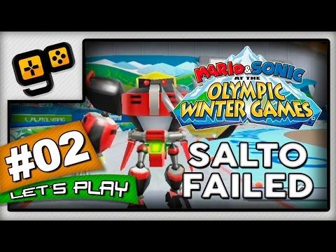 Let's Play: Mario & Sonic Winter Games 2010 - Parte 2 - Salto Failed