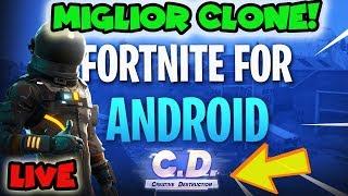 FORTNITE mobile ANDROID - Il Miglior CLONE ! CREATIVE DESTRUCTION