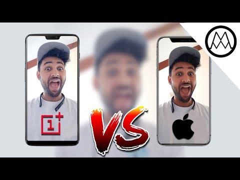 OnePlus 6 vs iPhone X Camera Test Comparison