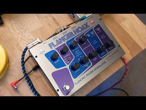 Electro Harmonix Flanger Hoax - Initial Meanderings.