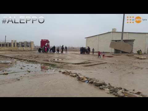 UNFPA- Syria response in Aleppo Jan 2017