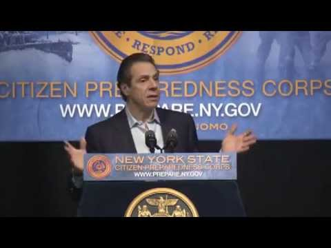 Governor Cuomo Delivers Remarks at Citizen Preparedness Corps Training in Oneida County