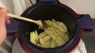 recette boudin aux pommes au cookeo de moulinex