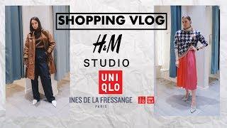 SHOPPING VLOG. Шоппинг со стилистом. H&M STUDIO AW 2018. UNIQLO Ines De La Fressange