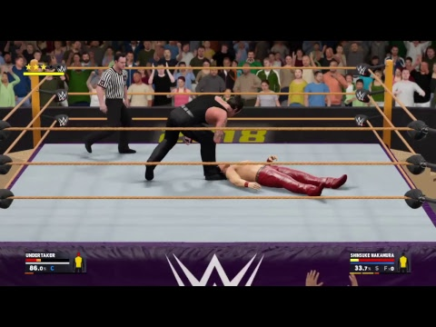 WWE 2K17 New Year's Bash Exhibition
