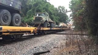 CSX Military Train Plus Surprise Business Train, Charleston, SC