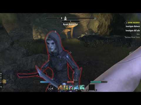 Elder Scrolls Online Morrowind Shulk Ore Mine Walkthrough Investigate Balmoral