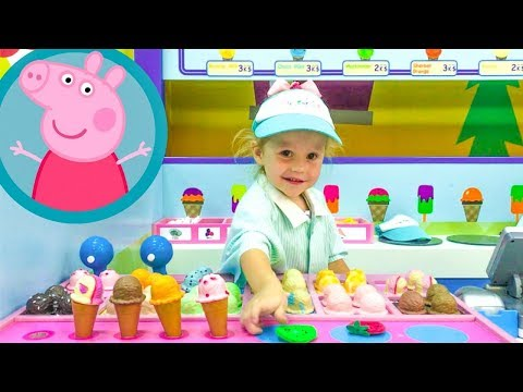 Thumbnail: Indoor Playground for kid's Roleplay, Family Fun Play Area, Simple Nursery Rhymes Songs for baby