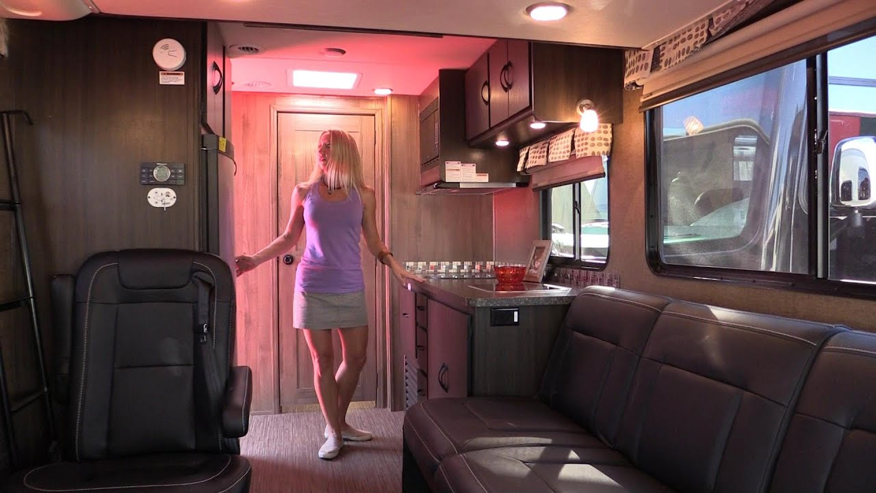 Coachmen Orion On The Ford Transit A Quick Review Youtube