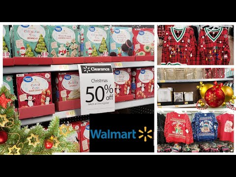 WALMART CHRISTMAS CLEARANCE | SHOP WITH ME
