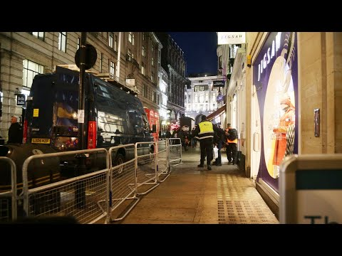 London's Oxford Circus station evacuated, armed police on scene