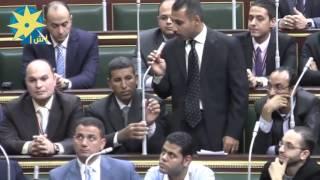 شاهد بالفيديو : إجراء تجربة على نظام التصويت الإلكتروني بمجلس النواب